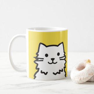 Mug Portrait drôle de chat