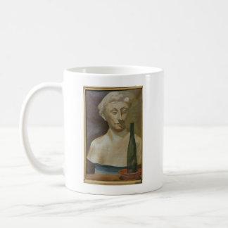 Mug Portrait d'une dame de l'antiquité 1990