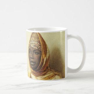 Mug Portrait d'une femme arabe