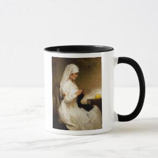 Mug Portrait d'une infirmière de la Croix-Rouge