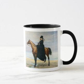 Mug Portrait équestre de Mademoiselle Croizette