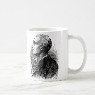 Mug Portrait gravé à l'eau-forte de Montesquieu par
