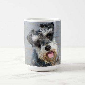 Mug Portrait mignon de photo de chien miniature de