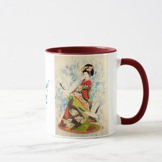Mug Pot et geisha de gingembre