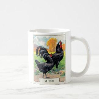 Mug Poulet vintage de Fleche de La