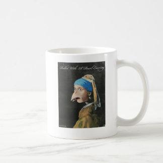 Mug Poulette avec une boucle d'oreille de perle