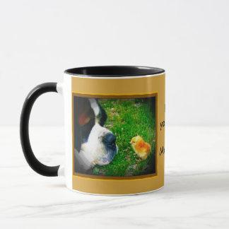 Mug Poussin confus