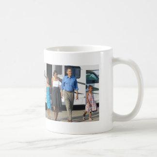 Mug Première famille, visite d'Obama