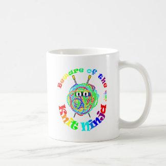 Mug Prenez garde du Knit Ninja