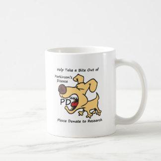 Mug Prenez une morsure hors de Parkinson