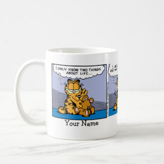 Mug Présentation horizontale sur microfilm de Garfield