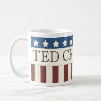Mug Président 2016 bannière étoilée de Ted Cruz