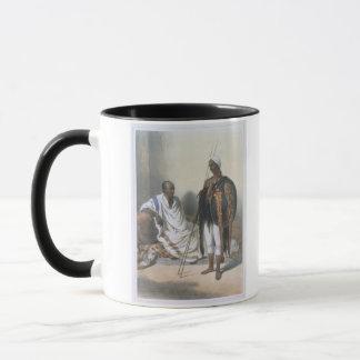 Mug Prêtre et guerrier abyssiniens, illustration de '
