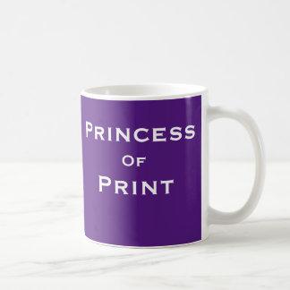 Mug Princesse du nom femelle de journaliste de