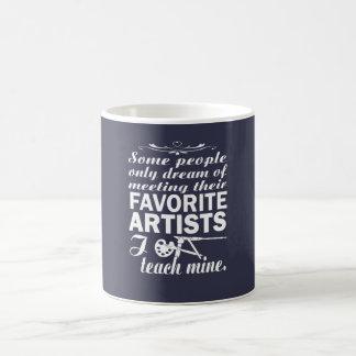 Mug Professeur d'art