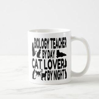 Mug Professeur de biologie d'amoureux des chats