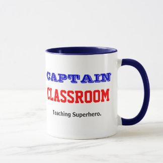 Mug Professeur de capitaine Classroom Teaching