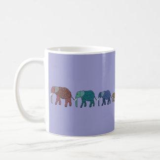 Mug Promenade d'éléphant africain