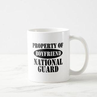 Mug Propriété d'ami de garde nationale