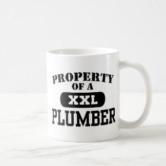 Mug Propriété d'un plombier