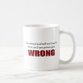 Mug Prouvez-vous faux