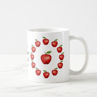 Mug Prunelle de mon oeil, red delicious