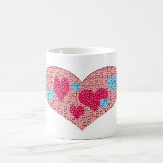 Mug Puzzle de coeur