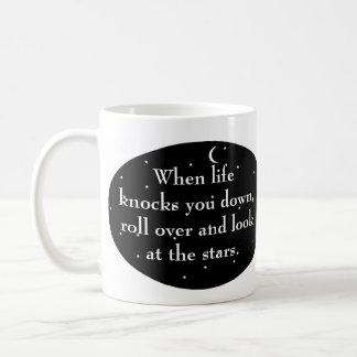 Mug Quand la vie vous renverse, retournez le regard