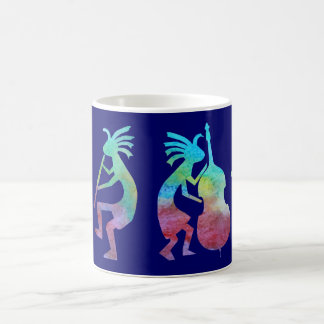 Mug Quartet de jazz de Kokopelli