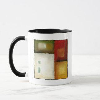 Mug Quatre rectangles colorés par Chariklia Zarris