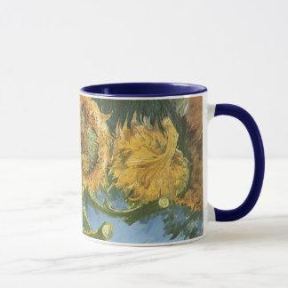 Mug Quatre tournesols coupés par Vincent van Gogh,