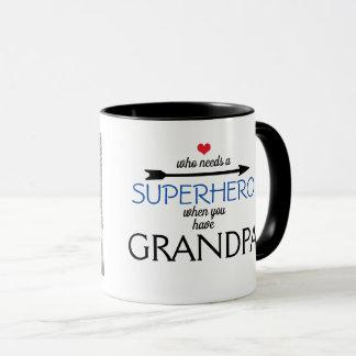 Mug Qui a besoin d'un SUPER HÉROS quand vous avez la