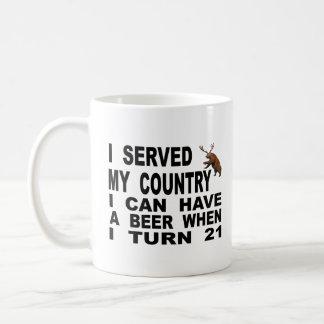 Mug Raillerie de l'âge légal pour consommer de