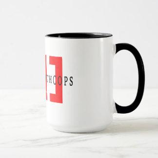 Mug Rampement avec des cannettes de fil - deux