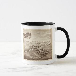 Mug Ranch de crique, Tulare Co, calorie