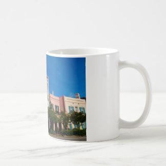 Mug Rangée Charleston, Sc d'arc-en-ciel