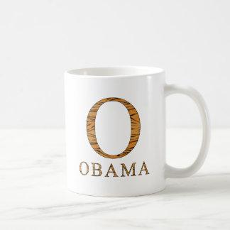 Mug Rayures de tigre de Barack Obama