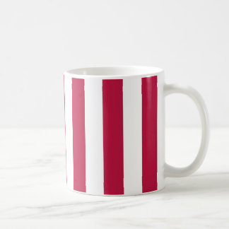 Mug Rayures rouges et blanches