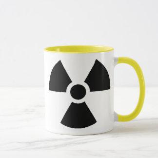 Mug Récipient officiel de déchets radioactifs