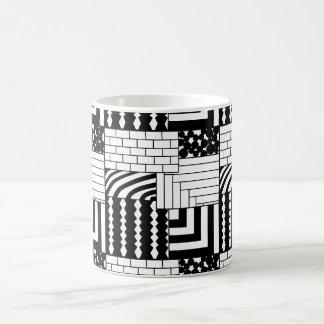 Mug Rectangles modelés