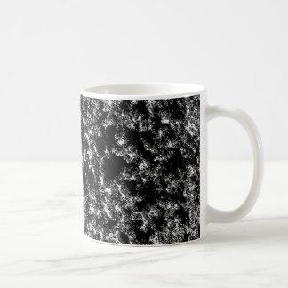 Mug Regard marbré noir et blanc