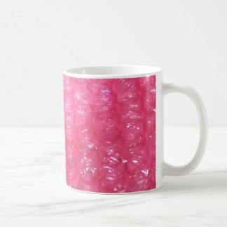 Mug Regard rose d'enveloppe de bulle de nouveauté
