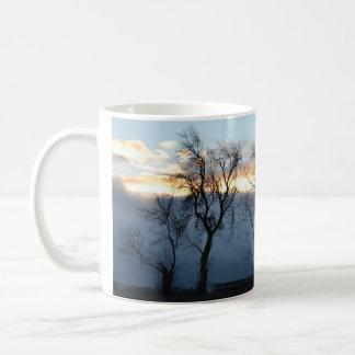 Mug Région boisée écossaise d'hiver