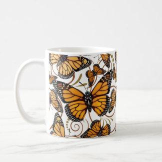 Mug Remous de papillon de monarque