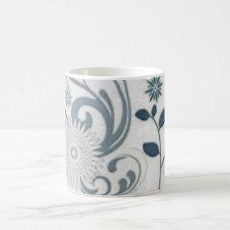 Mug Remous et fleurs de gris