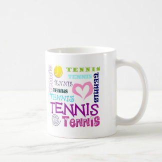 Mug Répétition de tennis