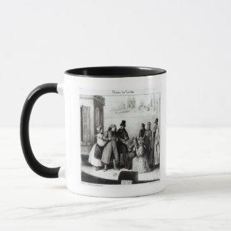 Mug Représentation de 'Le Pere Goriot'