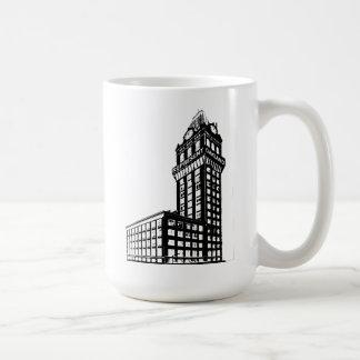 Mug Représentez la construction d'Oakland Tribune