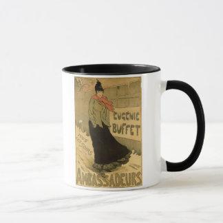 Mug Reproduction cuir épais d'Eugenie de publicité par