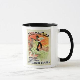 Mug Reproduction d'une publicité par affichage le